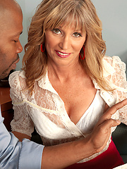 98-pound MILF Takes On A Giant, Black Cock!