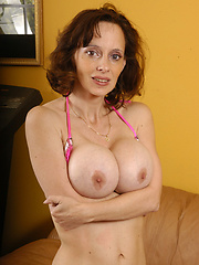 Big titty MILF has a craving for more cock!