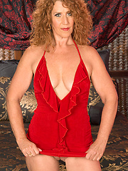 Horny redhead mature woman