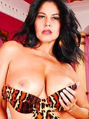 Hot 50 year old Brazillian slut fucks like a pro!
