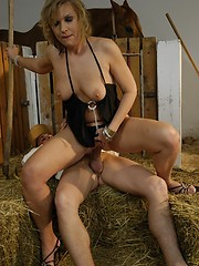 50 year old housewife fucks a young stud!