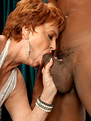 Redhead Valerie gets what she came