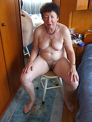 Check out mature Barbara who loves to get naked