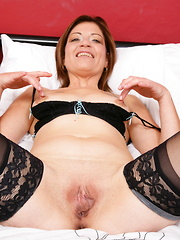 British lady playing with her wet pussy