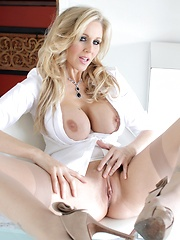 Blonde MILF Surprise.