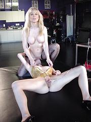 Nina Hartley seduces younger nympho Anastasia Pierce