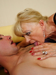 Horny housewife getting naughty with her toy boy