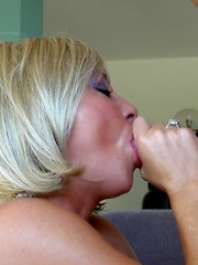 Busty MILF Bent Over And Banged