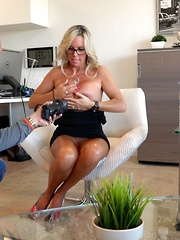 Wifey Sucks Cock Swallows Big Cum Shot
