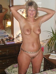 Loose wannabe mature pornstars showing body on cam for the first time