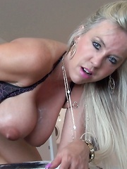 Wifey Swallows A Mouthful of Cum