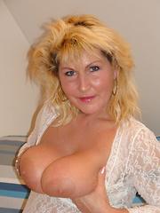 Older mature slut with overgrown pussy hair interracially fucked!