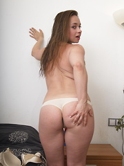 This naughty mom loves showing her sexy side