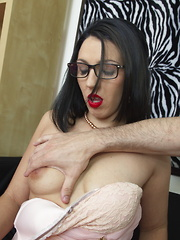 Naughty mom gets the pov treatment